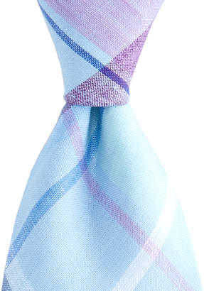 Vineyard Vines Linen Plaid Shirting Tie