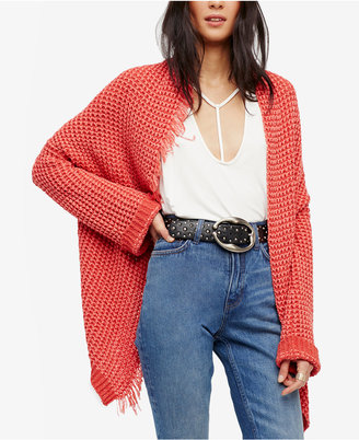 Free People I'll Be Around Asymmetrical Cardigan $128 thestylecure.com