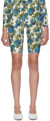Stella McCartney Off-White Floral Shorts