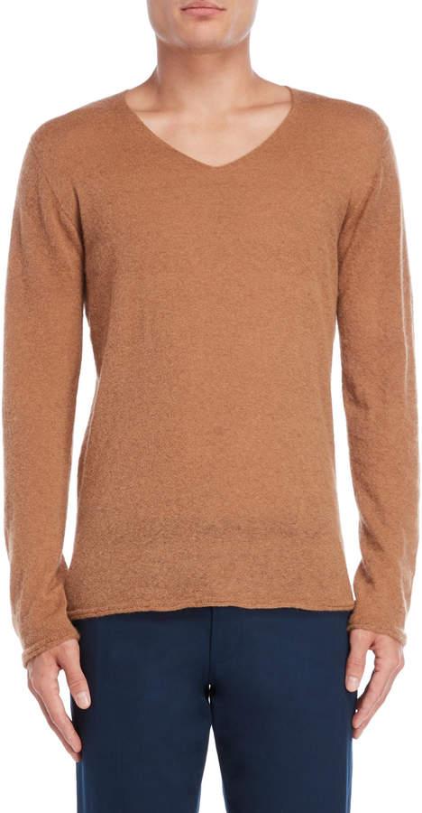 Roberto Collina Cognac Knit Pullover