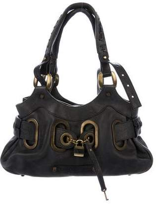 Barbara Bui Grained Leather Hobo