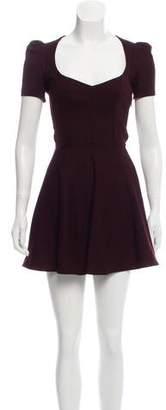 Reformation Flared Mini Dress