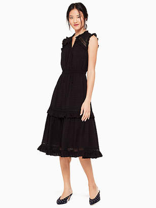Kate Spade Swiss dot sleeveless dress