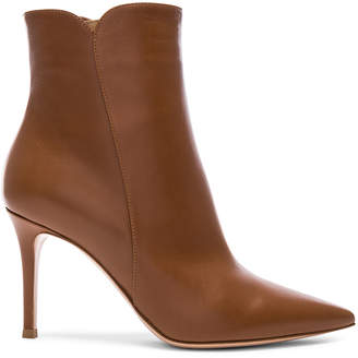 Gianvito Rossi Leather Levy Ankle Boots