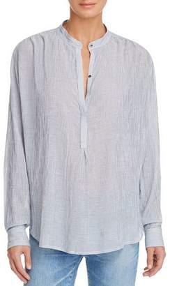 AG Jeans Audryn Mandarin-Collar Tunic