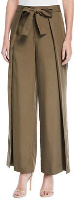Tahari ASL Alvy Tie-Waist Pants