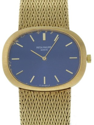 Patek Philippe Ellipse 3583/1 18K Yellow Gold Manual 34 X 27mm Mens Watch $5,199 thestylecure.com