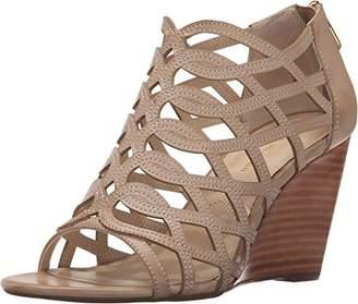 Adrienne Vittadini Footwear Women's Arndre Wedge Sandal $22.78 thestylecure.com