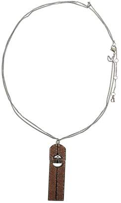Christian Dior Silver Metal Necklace
