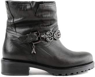 Patrizia Pepe Embellished Boots