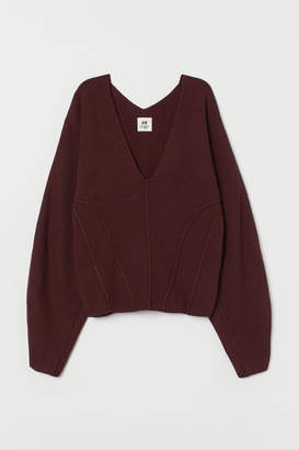H&M V-neck Cashmere-blend Sweater