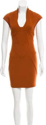 Kimberly Ovitz Sleeveless Mini Dress