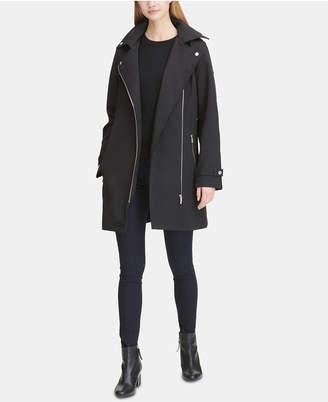 DKNY Asymmetrical Trench Coat
