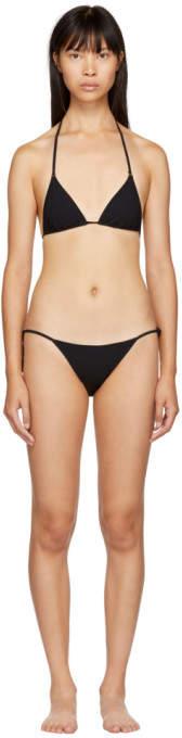 Black 90s Side Tie Bikini