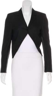 Saint Laurent Wool Structured Blazer