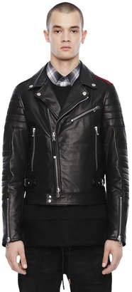 Diesel Black Gold Diesel Leather jackets BGPTN - Black - 44