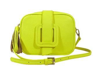 Tmrw TMRW Jamie Crossbody Bag in Yellow Leather