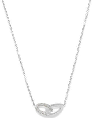 Ippolita Cherish Interlocking Link Necklace with Diamonds
