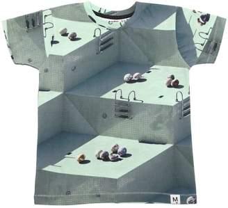 Molo Pool Printed Cotton Jersey T-Shirt