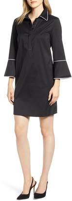 Ming Wang Bell Sleeve Shift Dress