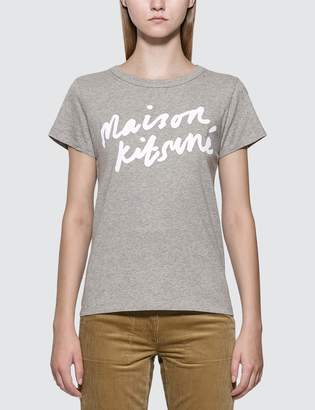 MAISON KITSUNÉ Handwriting T-shirt