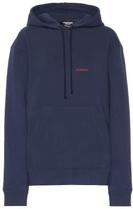 Calvin Klein Embroidered cotton hoodie
