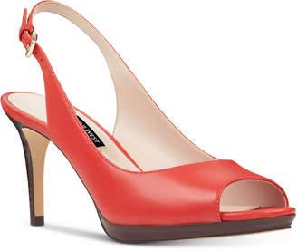 Nine West Gabrielle Slingback Platform Pumps Women's Shoes