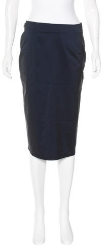 MoschinoMoschino Jeans Fitted Knee-Length Skirt