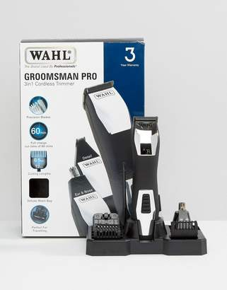 Wahl Groomsman Pro 3 In 1 Trimmer