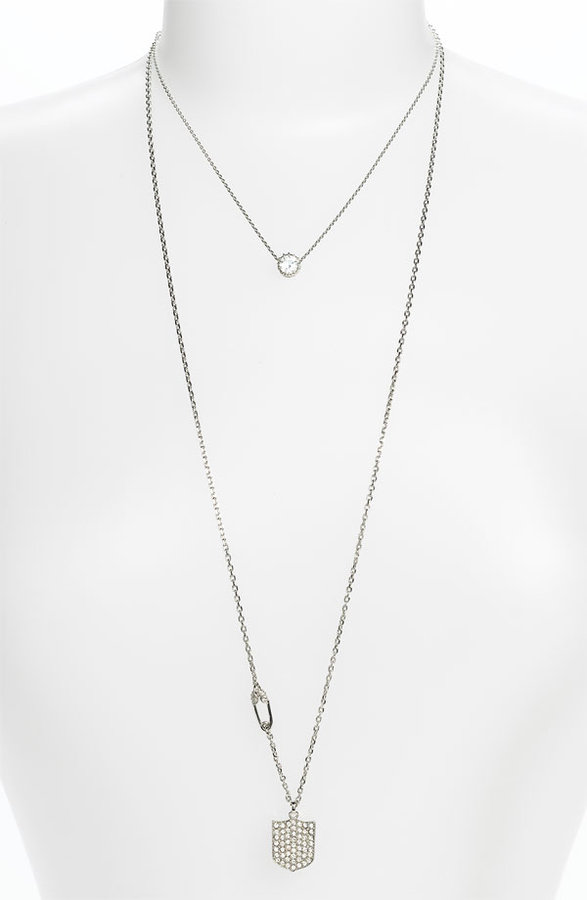 Juicy Couture 'Key to the Castle' Layered Pendant Necklace
