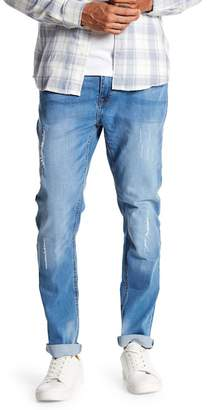 Cotton On & Co. Light Wash Faded Bandit Jeans