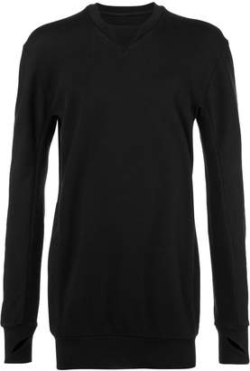 11 By Boris Bidjan Saberi loose-fit sweatshirt