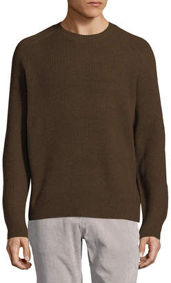 Vince Ribbed Wool-Cashmere Sweater