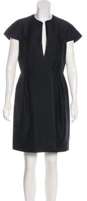 Magaschoni Wool-Blend Knee-Length Dress w/ Tags