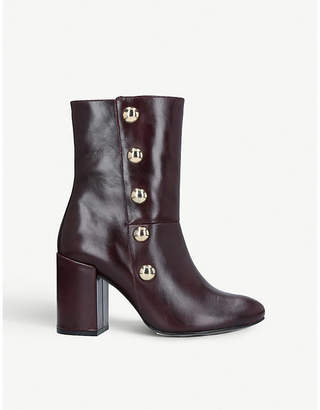 Carvela Soldier studded leather boots