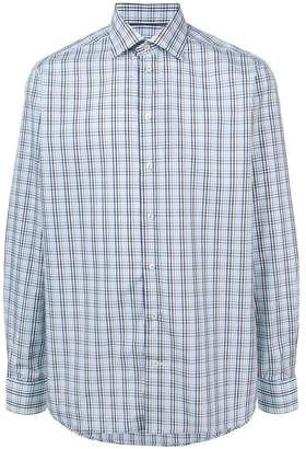 Eton longsleeved check shirt