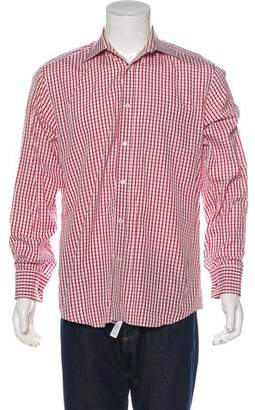 Paul Smith Check French Cuff Shirt