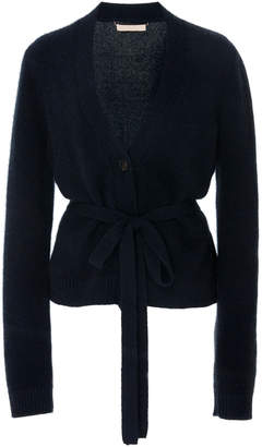 Brock Collection Ottico Belted Cashmere Cardigan