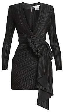 Givenchy Women's Pleated Wrap Dress