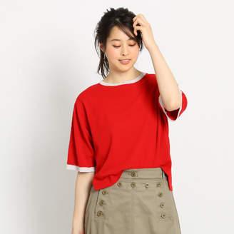 Dessin (デッサン) - Dessin(Ladies) 【洗える】5分袖Tシャツニット
