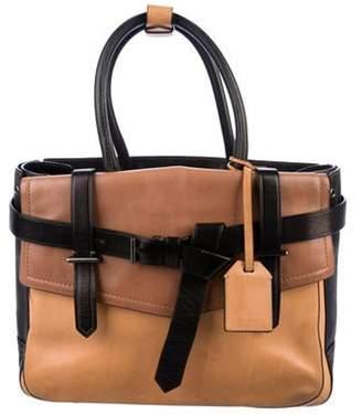 Reed Krakoff Leather Boxer Bag beige Leather Boxer Bag