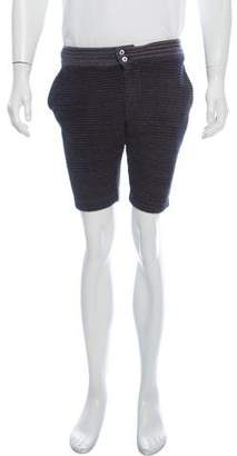 S.N.S. Herning Woven Flat Front Shorts