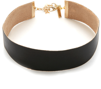Vanessa Mooney Ella Choker Necklace $30 thestylecure.com