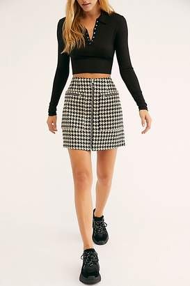 Scotch & Soda Structured Mini Skirt