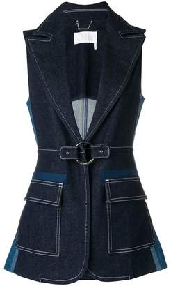 Chloé Sleeveless denim jacket