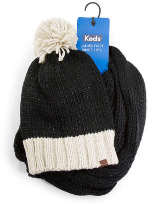 9092f1e6763 Keds Scarf And Beanie 2-pc. Knit Cold Weather Set