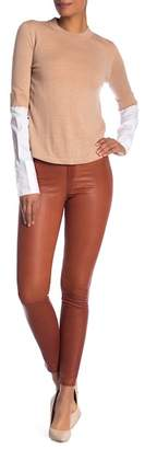 Veronica Beard Kate Leather Pants
