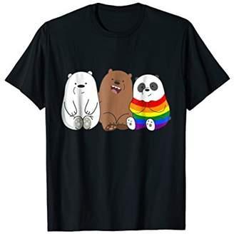 Gay Pride Bear Panda T-Shirt