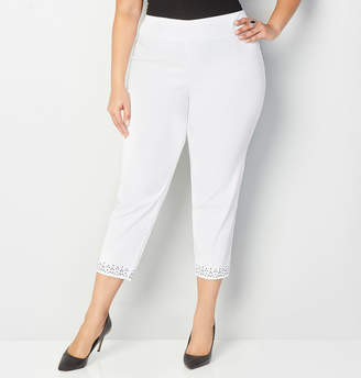 Avenue Stud Trim Ankle Pant