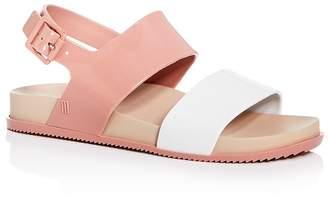 Melissa Women's Cosmic III Color-Block Slingback Sandals